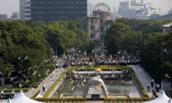 Photo of Hiroshima Peace Memorial Ceremony