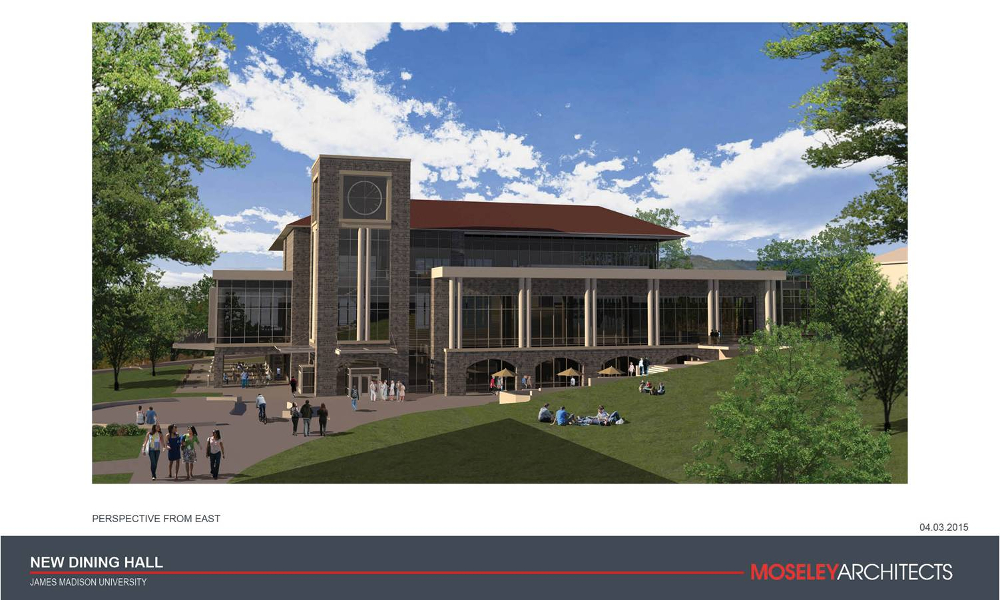 Artists rendering of the new building.