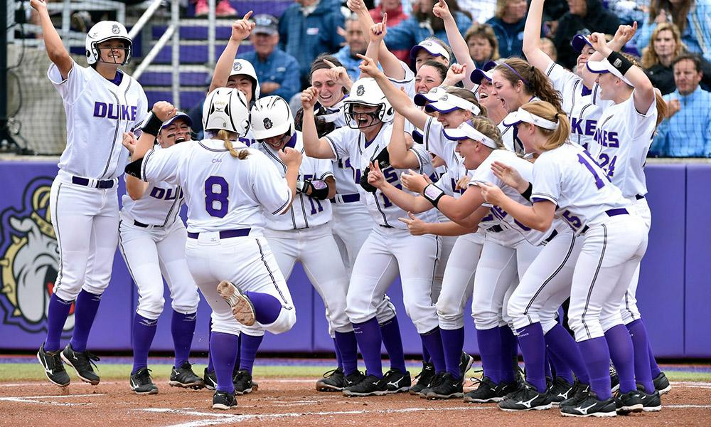 JMU Softball Team