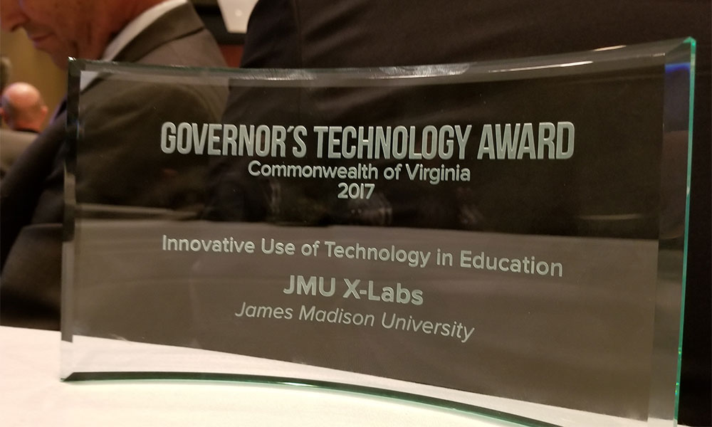 Govs. Technology Award for X-Labs