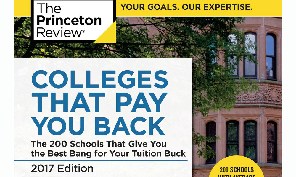 2017 Princeton Review Book Cover