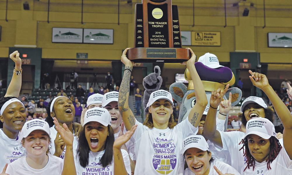 women's basketball caa champs