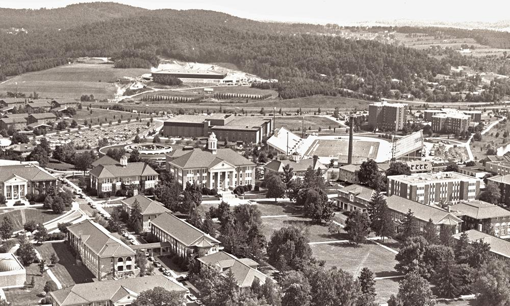 Image of JMU campus 1980s