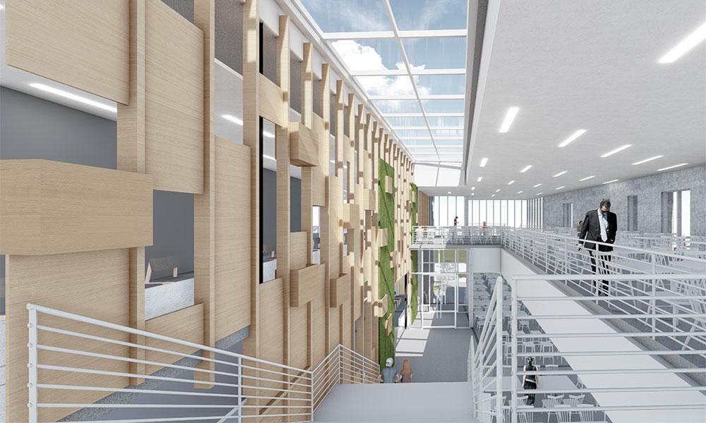 James Madison University Campus Construction