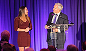 President Alger speaking