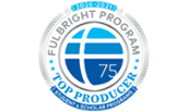 2021 Fulbright top producer lead image
