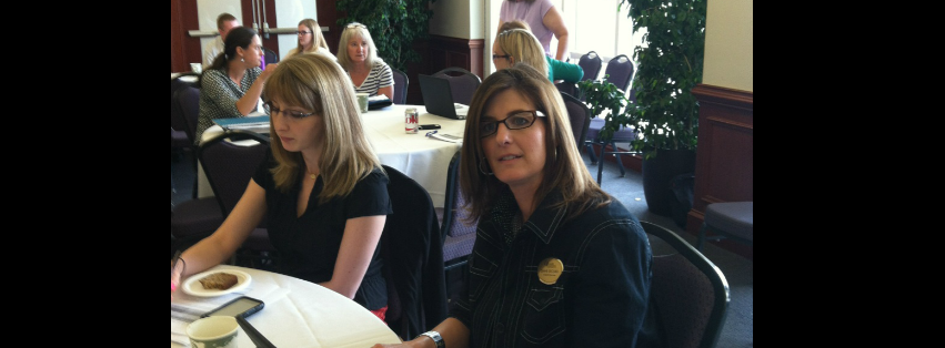 Image: Diane Secord, our LSI Coordinator, attends a psychology workshop here at JMU!