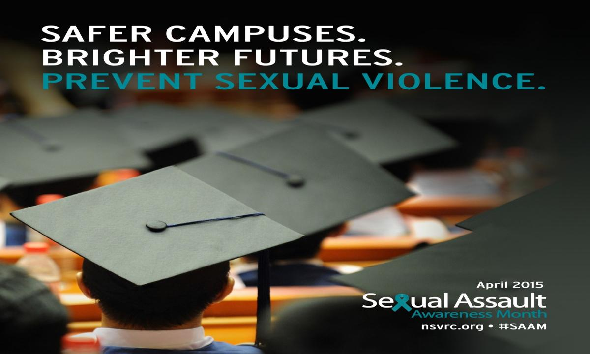 Image: April is National Sexual Assault Awareness Month