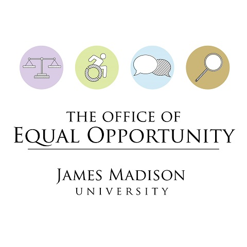 logo for the JMU Office of Equal Opportunity