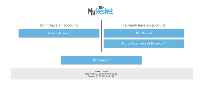 myresnet create account