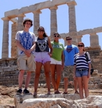Students in Greece