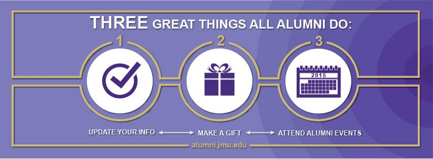 Image: Three Great Things All Alumni Can Do
