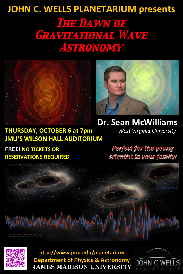 The Dawn of Gravitational Wave Astronomy, October 6, 2016