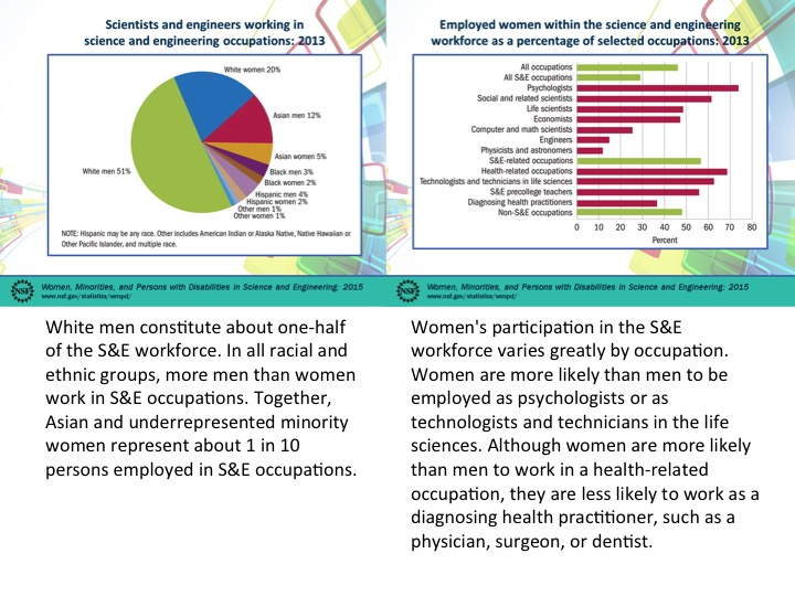 NSF Women, Minorities, and Persons with Disabilities in Science and Engineering, 2015