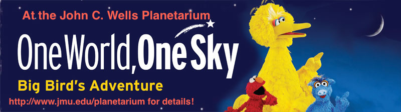 One World One Sky Returns to the JMU Planetarium!