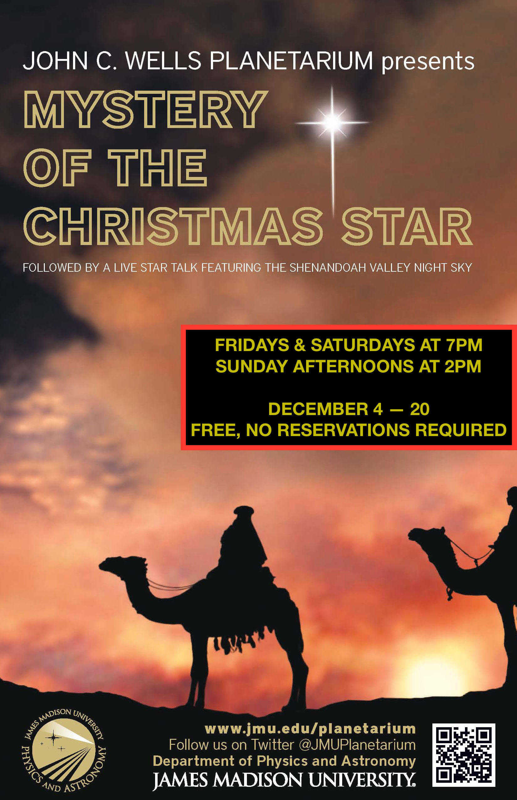 2015 Mystery of the Christmas Star