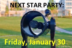 JMU Star Party at Astronomy Park, November 21, 2014