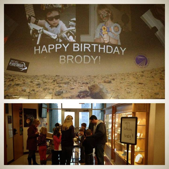 Happy Birthday Brody sign