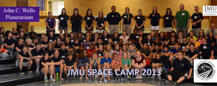 John C Wells Planetarium, Space Camp 2013