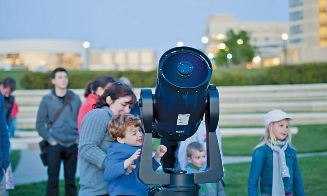 JMU Planetarium Public Star Parties -- LAST FRIDAY of every month