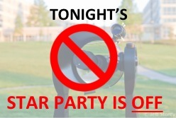 Next Star Party is Friday, April 29 at 9p!