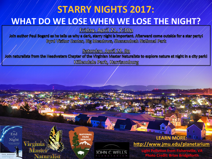 Starry Nights 2017: April 21 and April 22
