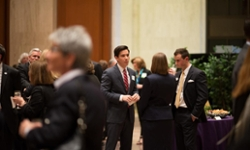 Attendees at the Madison Library of Congress Reception