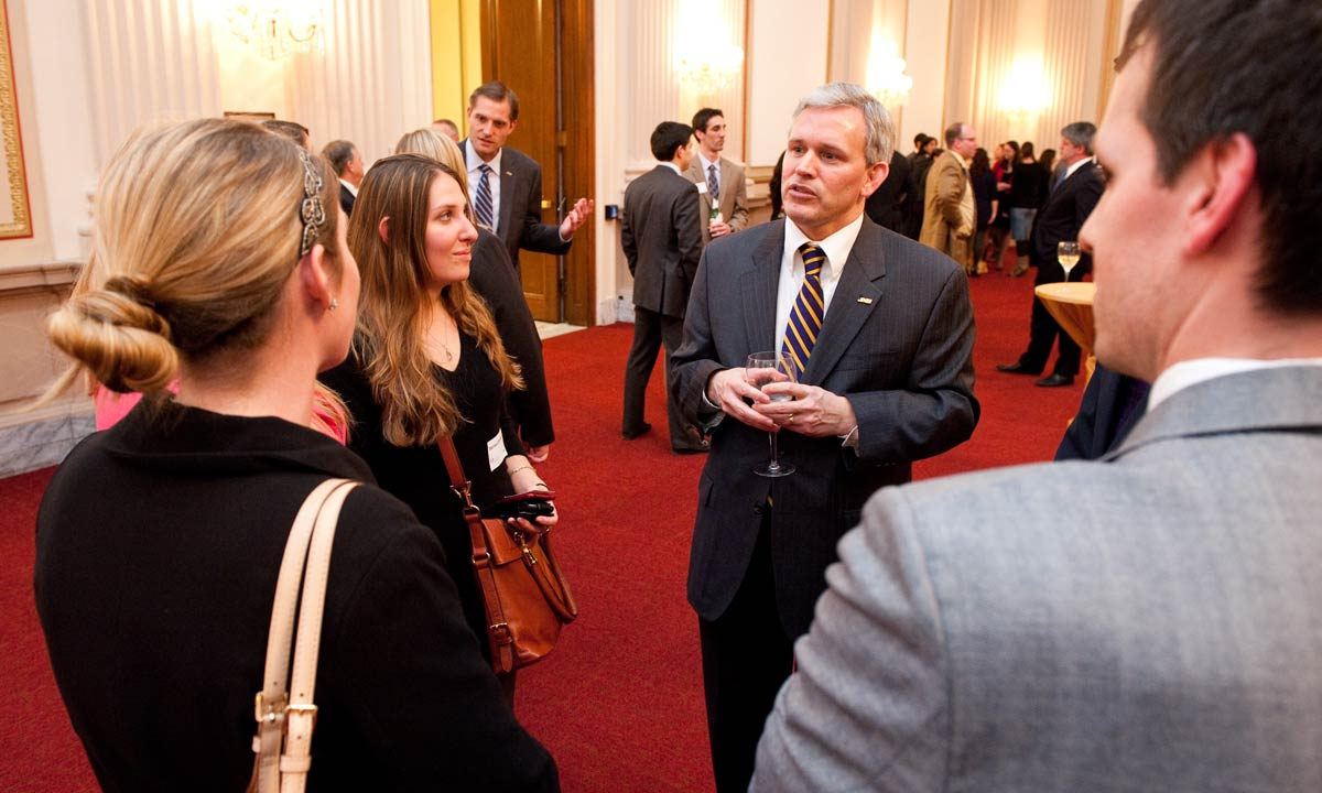 image named alger-talking-to-group.jpg, full URL site://JMU/_images/president/president-photos/alger-talking-to-group.jpg