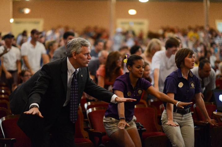 image named president-cheering-at-summer-springboard-716x477.jpg, full URL site://JMU/_images/president/president-photos/president-cheering-at-summer-springboard-716x477.jpg