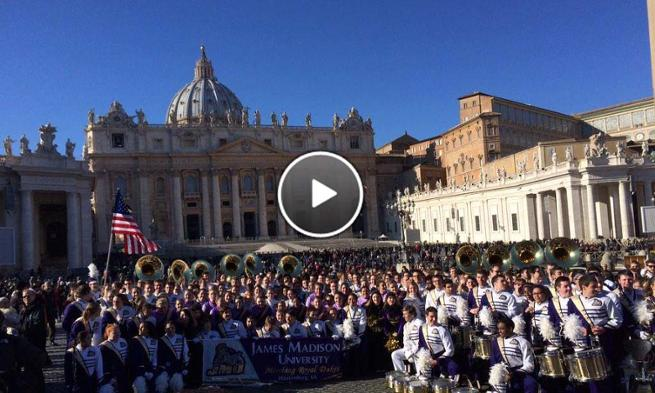 Marching Band in Rome