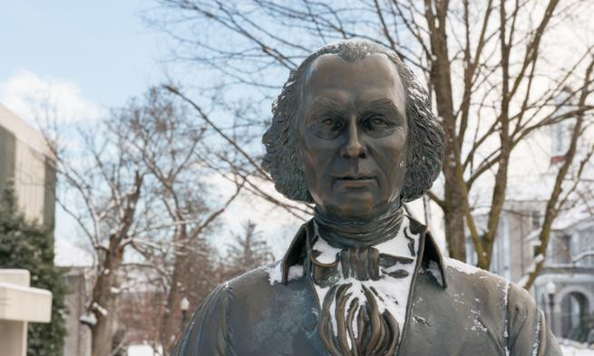 Jimmy Madison statue