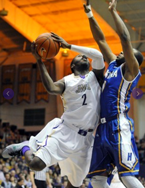 JMU's Ron Curry