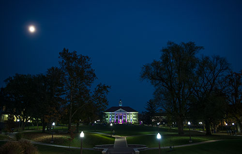 The Quad at Night