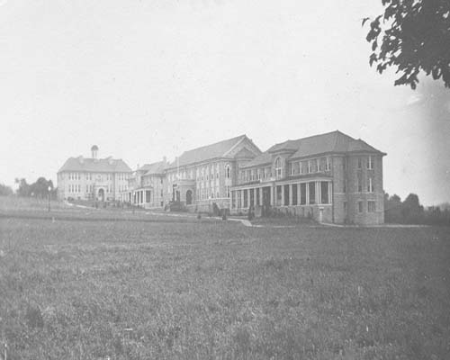 Campus in early 1900s