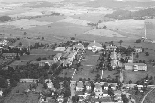Aerial of Campus in the 1930s