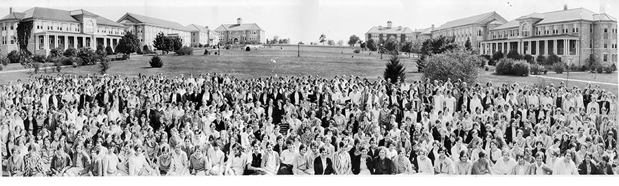 Student Body in 1929