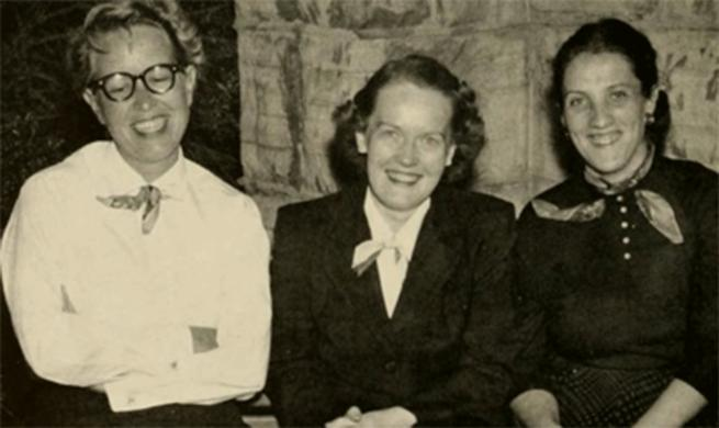 Leotus Morrison, Mary Beyrer and Celeste Ulrich
