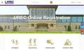 UREC Registration Home Page