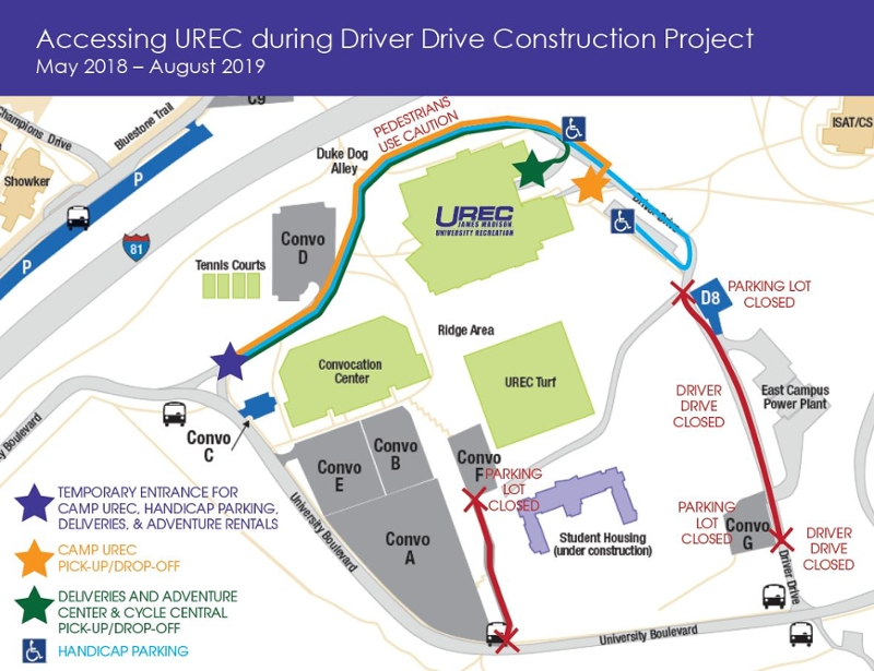 Driver Drive Construction Project