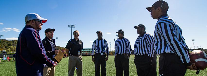 Image: Become an Intramural Official