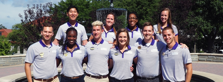 Image: Graduate Students Studying Campus Recreation Leadership