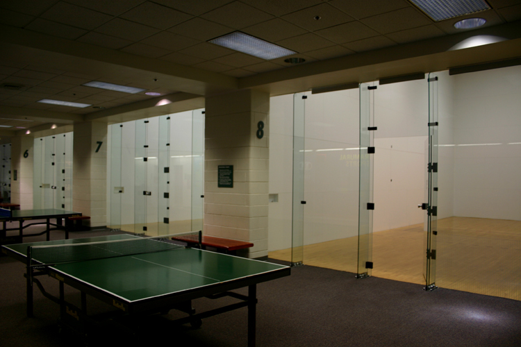 Racquetball/Walleyball Courts