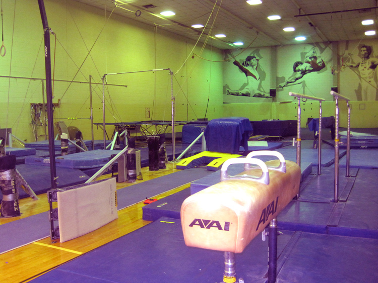 Godwin Hall Gymnastics Room