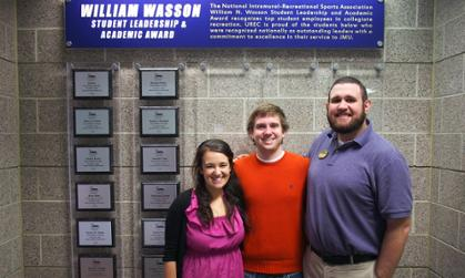 William Wasson Award Winners