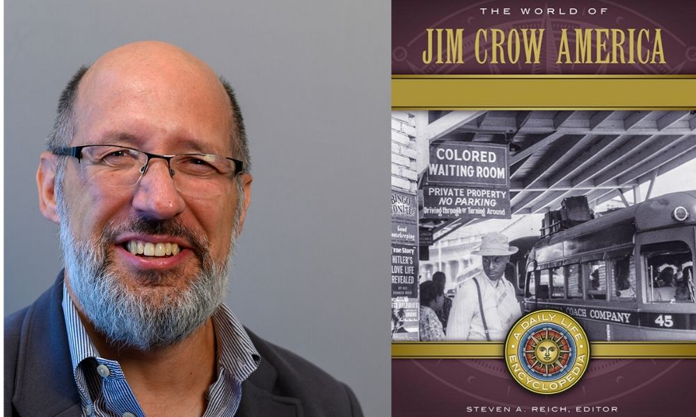 History professor Steven Reich publishes The World of Jim Crow America.