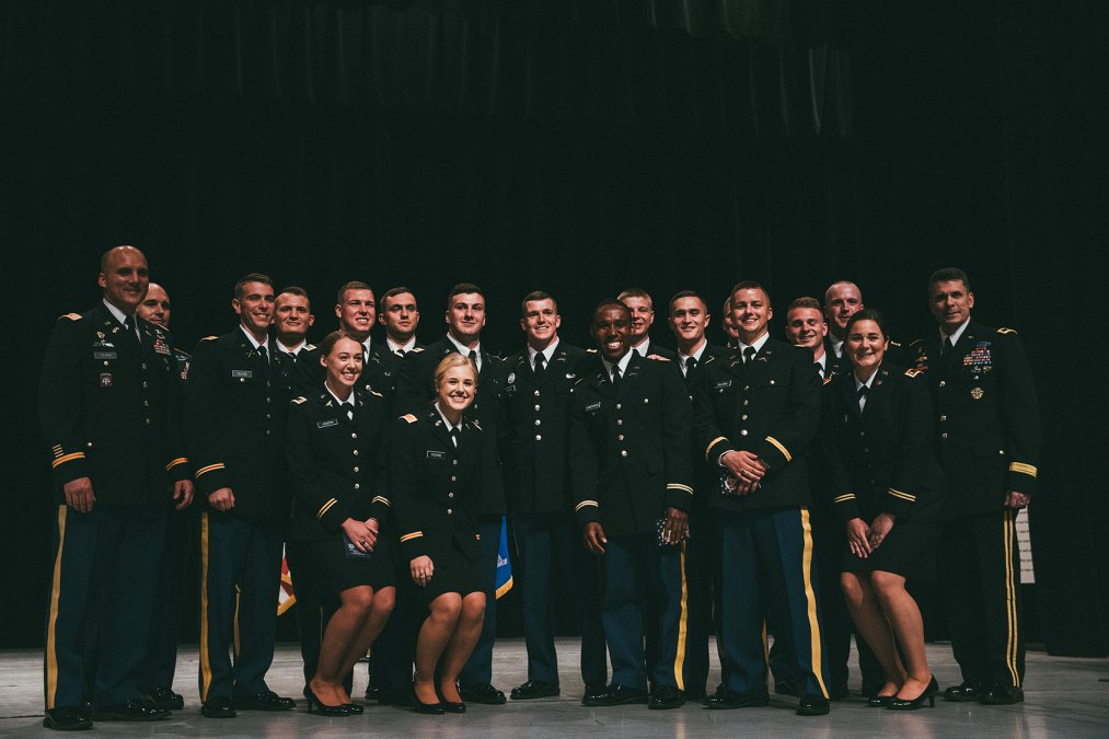 ROTC Commissioning Class of 2018