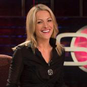 Lindsay Czarniak on ESPN Sportscenter set