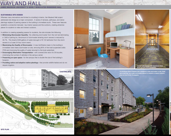 Wayland Hall Renovation Design Details