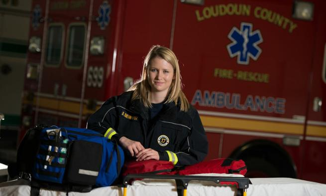 Devin Buennemeyer volunteers for Loudoun County Rescue