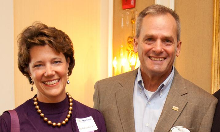 JMU alumni Larry and Barbara Caudle